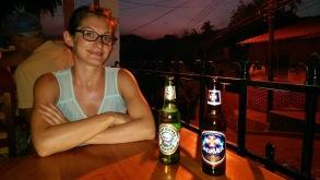das Bier von Honduras lassen wir uns nicht entgehen