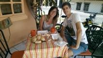 feines Schweizer Frühstück in der Panaderia Suiza