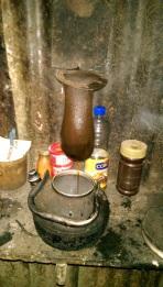 ein Kaffee erhielten wir, zubereitet nach typischer Costa Ricanischer Weise