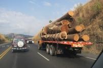 beladener Lastwagen