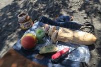 feines Frühstück von der Panederia Suiza auf dem Vulkan