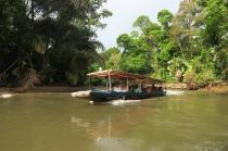 Tortuguero kann man nur mit dem Boot über den Kanal erreichen