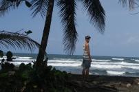 der Strand mit Plamen