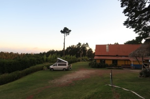 Übernachtungsplatz beim Vulkan Poas