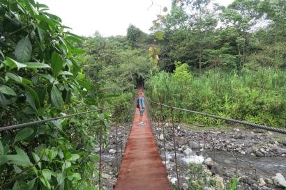 auf dem Weg zum Cerro Chato, ein Vulkankratersee