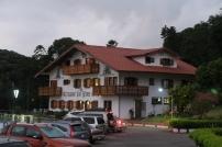 Das Restaurant, ein typisches Chalet