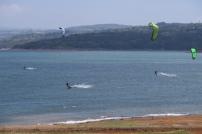 Kiten am Arenalsee
