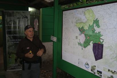 eine Nachtwanderung im Nationalpark