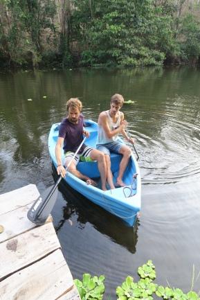 Flusserkundung mit dem Kanu