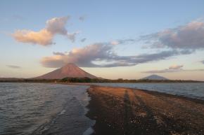 die zwei Vulkane der Insel Ometepe