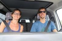 wir rasen durch Honduras, Rekord 350 km mit Grenze an einem Tag