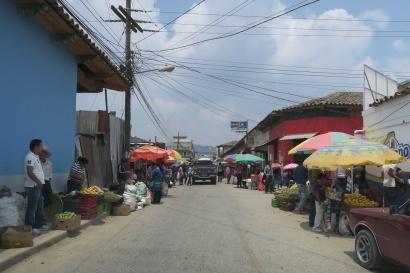 La Esperanza ist bekannt für seine Märkte