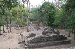 eine Ruine von Copan