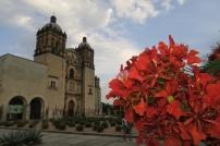 Eine prunkvolle Kirche von Oaxaca