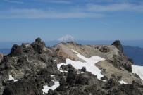 der Ausblick zum Mount Shasta