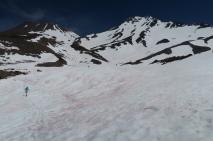 auf dem Weg zum Mount Shastima, die kleine Schwester des Mount Shasta
