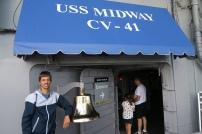 das USS MIDWAY Museum, ein Flugzeugträger der bis 1992 auf See war