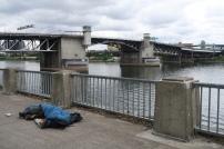 leider gibt es auch hier sehr viele Obdachlose