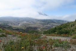 der Mount St. Helen, ein Vulkan der das letzte Mal im 2008 ausgebrochen ist