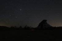 wir sind ganz alleine, der Sternenhimmel ist wunderbar