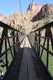 die Hängebrücke über den Colorado River