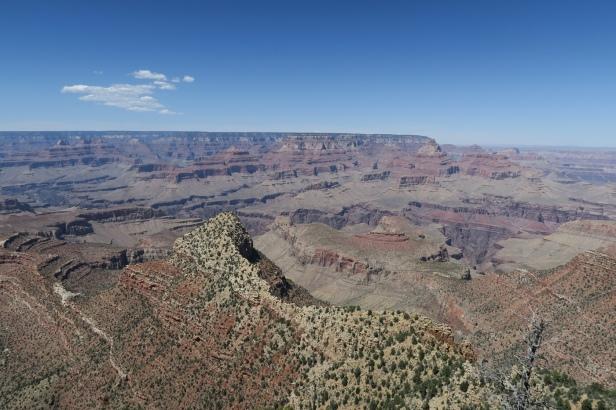 der Grand Canyon von oben