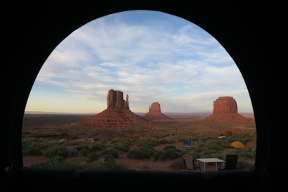 """der Blick aus unserem """"Zimmerfenster"""""""