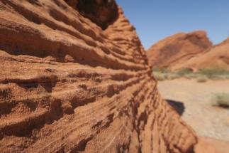 die Steine und Felsen sind noch roter als im Grand Canyon