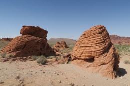 schön geformte Felsen