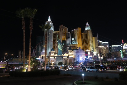 das Lichterspiel von Las Vegas