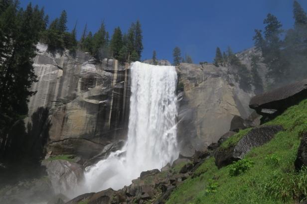 die Wasserfälle sind imposant