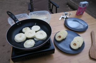 das Heimweh-Essen, Apfelchüechli