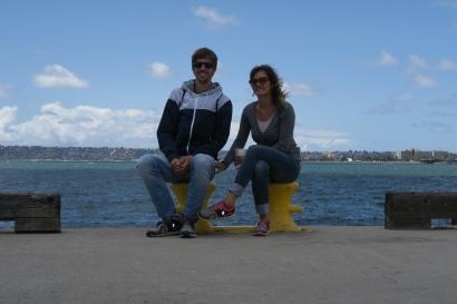 an der Meerpromenade