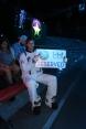 """bei der Live Show """"special Effects"""" startet Manuel als Astronaut durch"""