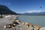 Kiten in Squamisch