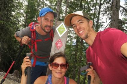 der zweite Gipfel an einem Tag, Top of the Sea to Sky Gondola