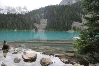 einer der drei Joffre Lakes