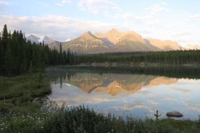 ein See im Jasper Natinalpark