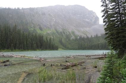 der Lillien Lake an dem wir am zweiten Tag vorbeigewandert sind