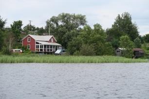 das Cottage mit unserem Büsli