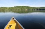 am Morgen früh ist der See total ruhig und wir kommen schnell voran