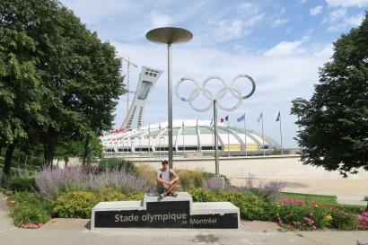 die Olympischenringe von den Sommerpsielen 1976