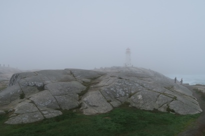 der Leuchtturm von Peggys Cove