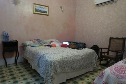Unser Zimmer im Casa Particular
