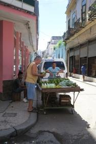 Gemüse vom Wagen