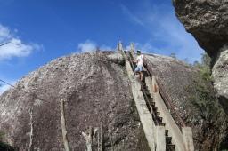 """Auf der Wanderung zum """"La grand Piedra"""""""