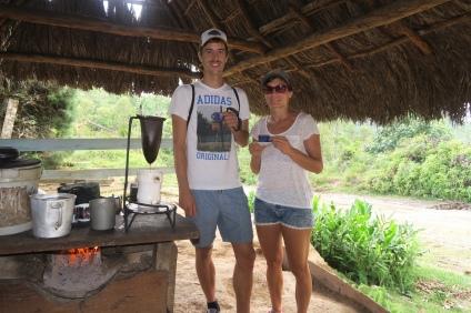 Ein frischer Kaffee gleich zubereitet wie in Costa Rica
