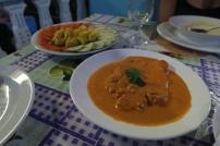 Typiches Fischgericht aus Baracoa