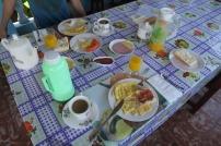 Feines Frühstück im Casa Partikular