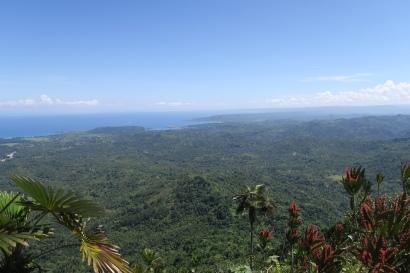 Der Ausblick vom Yunque auf Baracoa